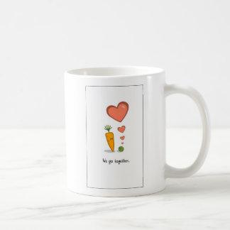 peasncarrots2 coffee mug
