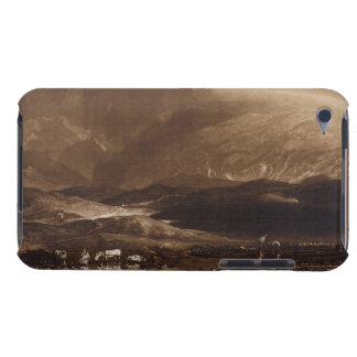 Peat Bog, Scotland, engraved by George Clint (1770 iPod Case-Mate Case