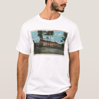 Pebble Beach, CA - Del Monte Lodge View and T-Shirt
