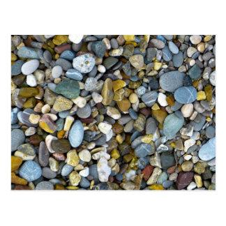 pebble nature beach postcard