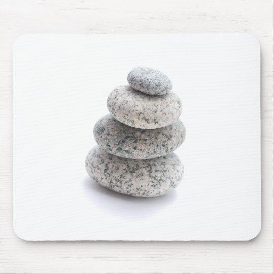 pebble sculpture mouse mat