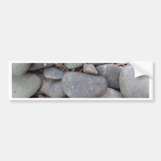 Pebble Stones Bumper Sticker