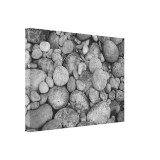 Pebble stones canvas print for home decoration