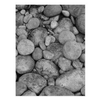 Pebble stones postcard