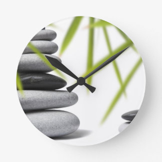 Pebble Zen Round Clock