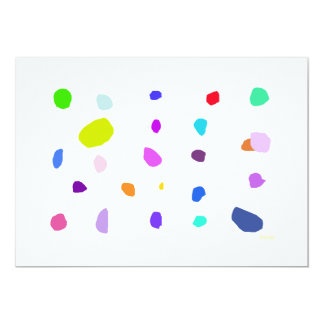 Pebbles 2 13 cm x 18 cm invitation card