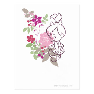 PEBBLES™ A Cutie In The Flowers Postcard