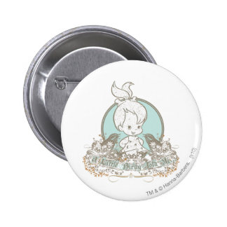 Pebbles A Little Birdy Told Me 6 Cm Round Badge