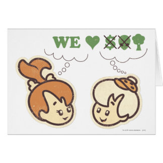 PEBBLES™ and Bam Bam Loves Nature Card