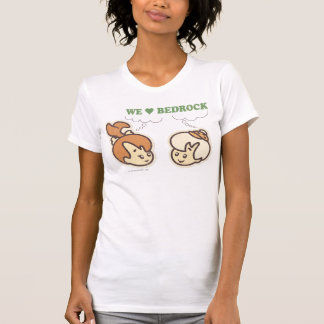 PEBBLES™ and BAMM-BAMM™ Love Bedrock T-Shirt