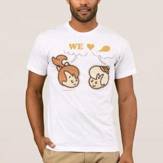 PEBBLES™ and BAMM-BAMM™ Love Food T-Shirt