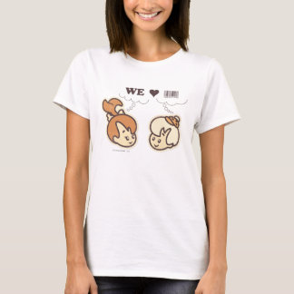 PEBBLES™ and BAMM-BAMM™ We Love T-Shirt
