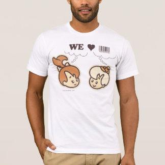 PEBBLES™ and BAMM-BAMM™ We Love T-Shirt