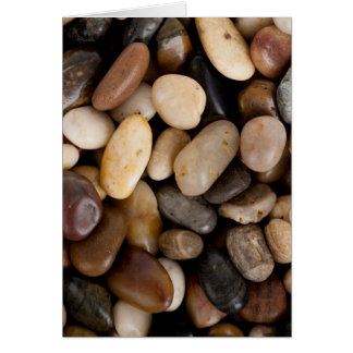 Pebbles Background Card