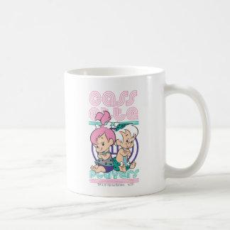 PEBBLES™ & BAM-BAM™ Cassette Players Coffee Mug