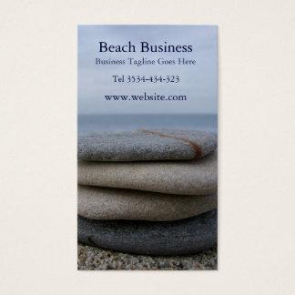 Pebbles Beach Business Card