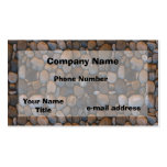 Pebbles Double-Sided Standard Business Cards (Pack Of 100)