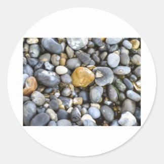 pebbles classic round sticker