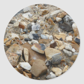 pebbles classic round sticker