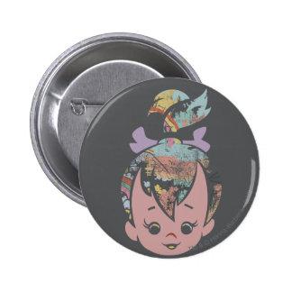 PEBBLES™ Color Collage 6 Cm Round Badge