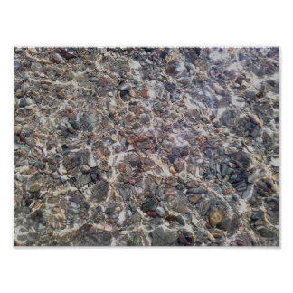 Pebbles Crystal Waters Value Poster Paper