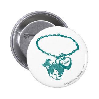 PEBBLES™ Cutie Chain 6 Cm Round Badge