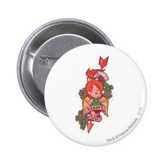 PEBBLES™ Daddy's Girl  1 6 Cm Round Badge