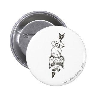 PEBBLES™ Daddy's Girl  2 6 Cm Round Badge