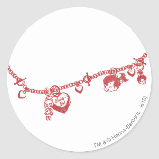 PEBBLES™ Friendship Chain Classic Round Sticker