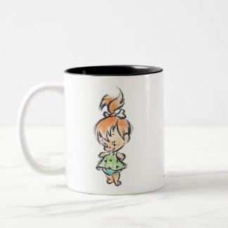 PEBBLES™ - Hand Done Two-Tone Coffee Mug