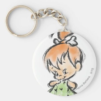 PEBBLES™ - Hand Drawn Sketch Key Ring