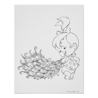 PEBBLES™ In Peacock Print