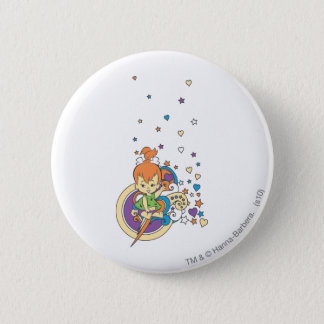 PEBBLES™ In The Stars� 6 Cm Round Badge