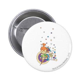 PEBBLES™ In The Stars� 6 Cm Round Badge