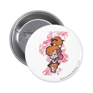 PEBBLES™ Loli 6 Cm Round Badge