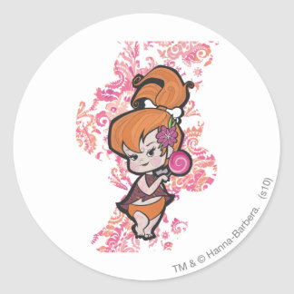 PEBBLES™ Loli Classic Round Sticker