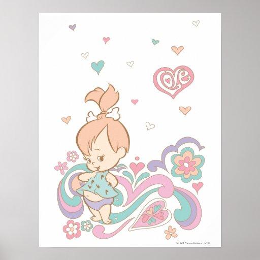 PEBBLES™ Love Swirls Poster