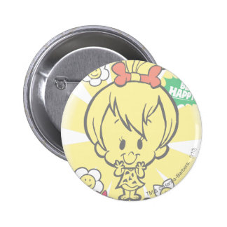 PEBBLES™ Miss Wonderful Pinback Button