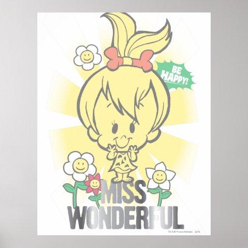 PEBBLES™ Miss Wonderful Print