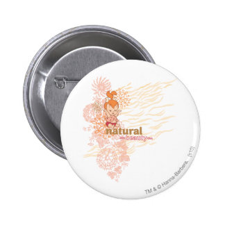 PEBBLES™ Natural Beauty 6 Cm Round Badge