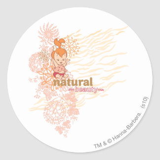 PEBBLES™ Natural Beauty Classic Round Sticker