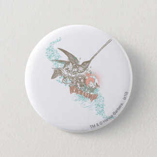 PEBBLES™ Nature Girl 6 Cm Round Badge