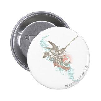 PEBBLES™ Nature Girl 6 Cm Round Badge