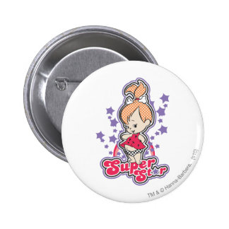 PEBBLES™ On Pink Rainbow 6 Cm Round Badge