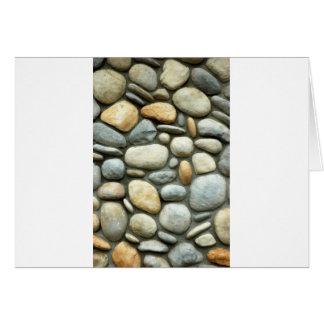 Pebbles on Sand Card