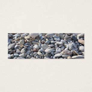 Bookmark business cards business card printing zazzle uk pebbles on the beach bookmarkbusiness card colourmoves