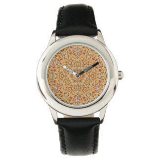 Pebbles Pattern   Vintage Kids Watch