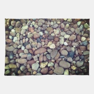 Pebbles Photo Tea Towel 40.6 cm x 61 cm