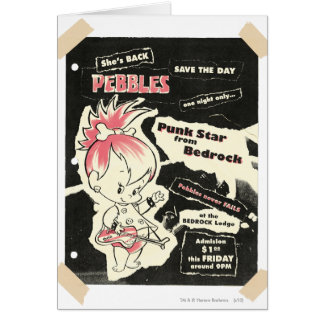 PEBBLES™ Punk Rock Legend Card
