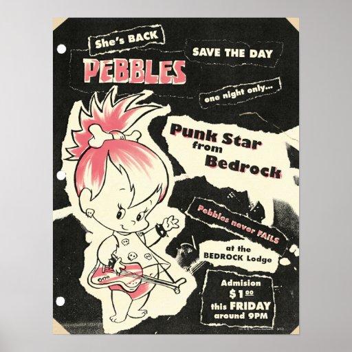 PEBBLES™ Punk Rock Legend Print